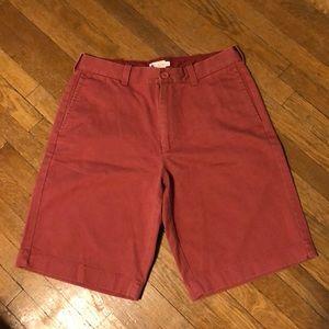 NWT Dark Salmon J Crew Shorts